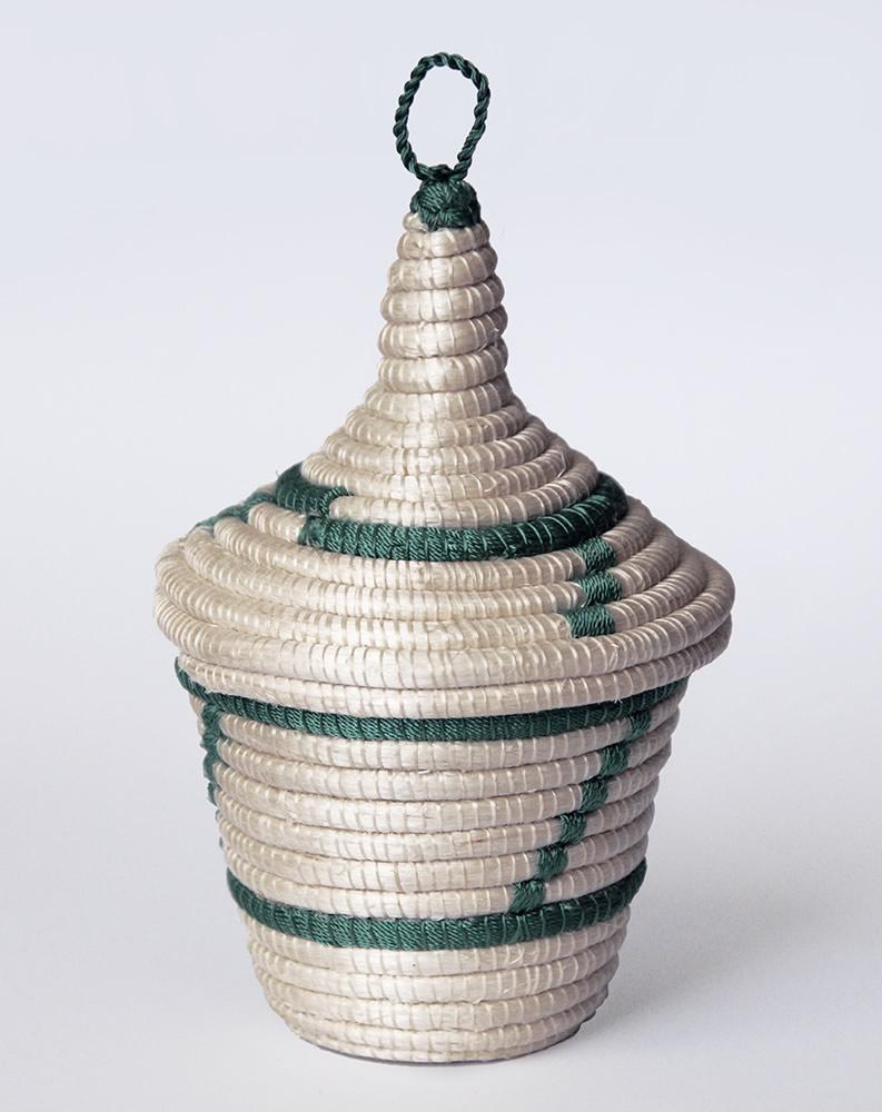 Agaseke with Green Tea